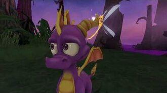 The Legend of Spyro The Eternal Night Cutscene 19 - Magical Creepy Forest