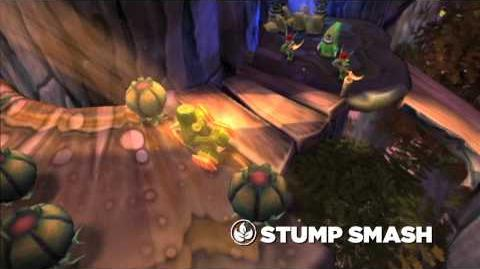 Meet the Skylanders Stump Smash (extended)