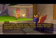 Spyro & Zoe in the Castle's Garden
