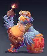 Breezebuilder Parrot Reignited Concept art