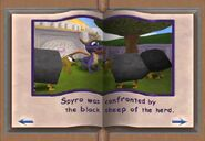 Black sheep attack Spyro