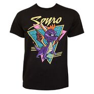 Spyro Triangle Black Shirt POP