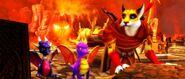 SpyroCynderHunterSparx DragonCity2