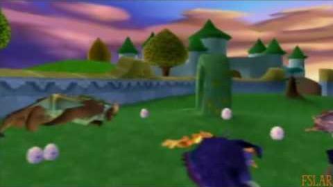 Spyro Year of the Dragon - 100% - Sunrise Spring