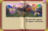 Spyro3Epilogue Sparx Zoe Ami