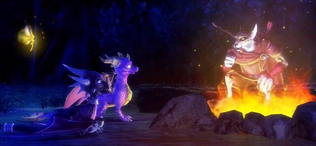 File:Spyro Sparx Cynder Campfire.jpg