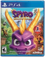 PS4 Spyro Reignited Trilogy Cover