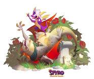 Darius Spyro ReignitedArt