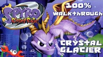 Spyro 2- Ripto's Rage! 100% Walkthrough - 12 - Crystal Glacier