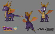 Spyro Reignited Prototype Model