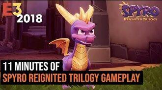 11 минут геймплея Spyro Reignited Trilogy