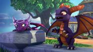 S2E3 Spyro and Cynder