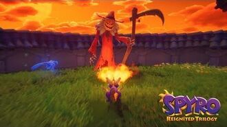 Fiery Personalities Gameplay Spot Spyro Reignited Trilogy