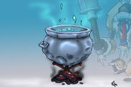 P Ice cauldron