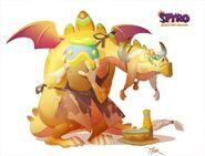 Spyro Reignited Trilogy-Thor