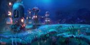 Aquaria Towers Reignited Art
