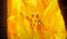 Spyro Cynder Time Crystal