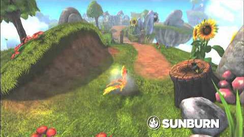 Skylanders Spyro's Adventure - Sunburn Preview Trailer (Roast 'N' Toast)