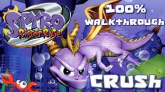 Spyro 2- Ripto's Rage! 100% Walkthrough - 9 - Crush's Dungeon
