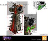 Spyro Storm SeigeTower