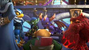 Spyro earned Skylander title