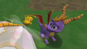 Spyro Sparx EntertheDragonfly