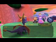 Princess Ami & Prince Azrael Meets Spyro