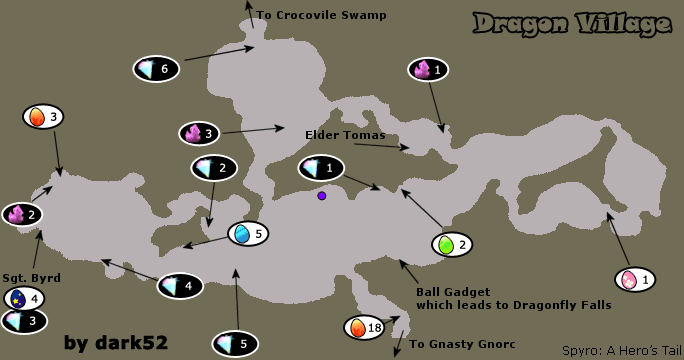Image map dragon villageg spyro wiki fandom powered by wikia map dragon villageg freerunsca Image collections
