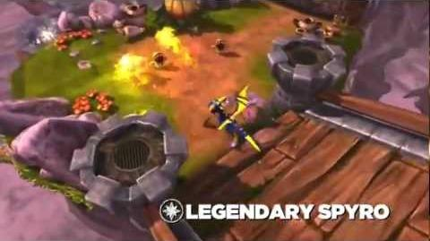 Skylanders Spyro's Adventure - Legendary Spyro Preview (All Fired Up)