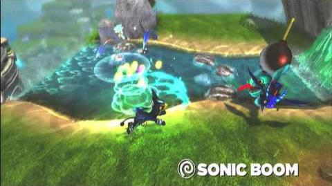 Skylanders Spyro's Adventure - Sonic Boom Preview Trailer (Full Scream Ahead)