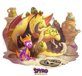 Thor Spyro ReignitedArt