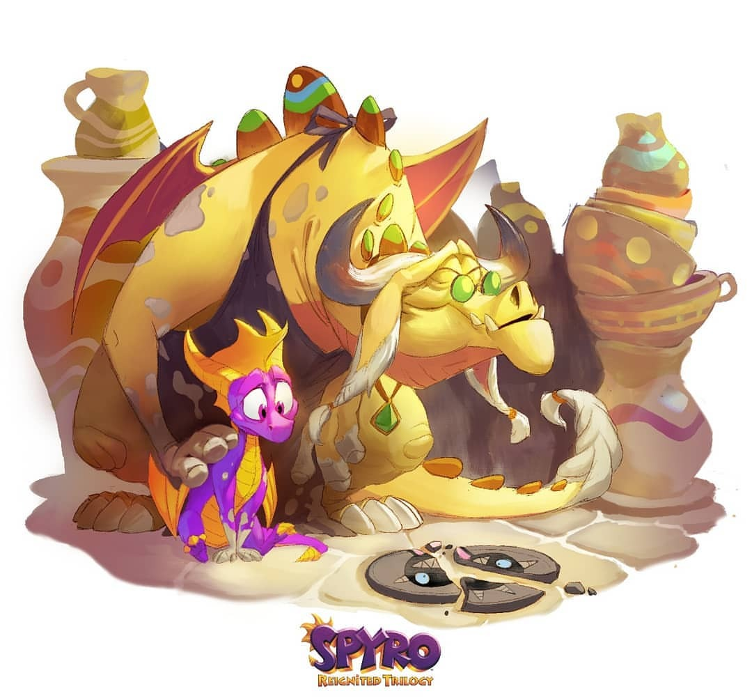 Image result for spyro reignited cynder easter egg