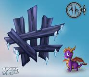 P Ice SmashDoor