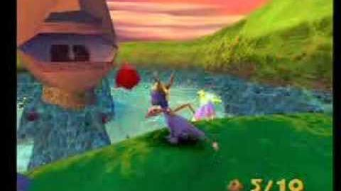 Spyro 2 Orbs Idol Springs Foreman Bud's puzzles