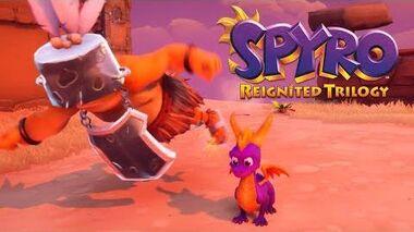 Spyro Reignited Trilogy - Enemy Swim in the Air Glitch