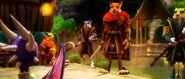 Prowlus CheetahWarriors Hunter Cynder