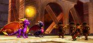 SpyroCynderSparx Moles