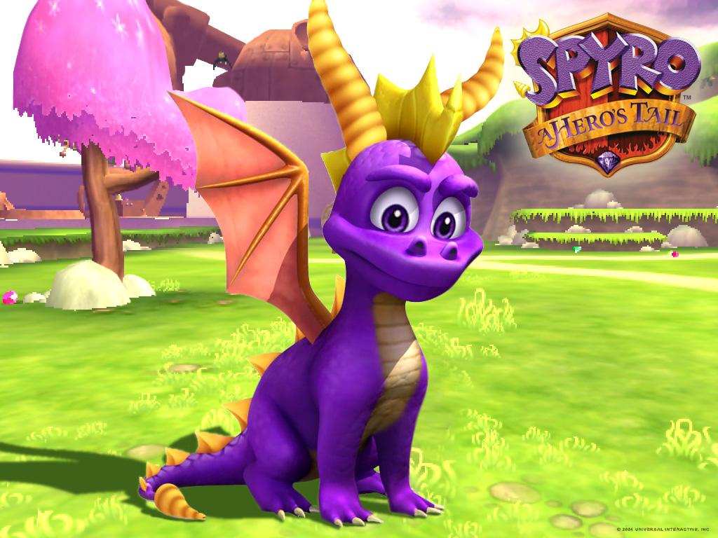 Spyro The Dragon Desktop 1024x768 Wallpaper 103203jpeg