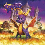 Spyro 1 Reignited Cover