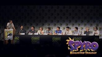Spyro Reigniting a Legend Panel at San Diego Comic Con 2018 Spyro Reignited Trilogy