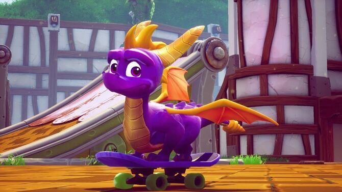 Spyro rig skateboard