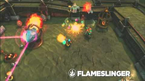 Skylanders Spyro's Adventure - Flameslinger Preview Trailer (Let the Flames Begin)