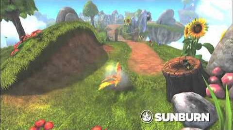 Skylanders Spyro's Adventure - Sunburn Preview Trailer (Roast 'N' Toast)