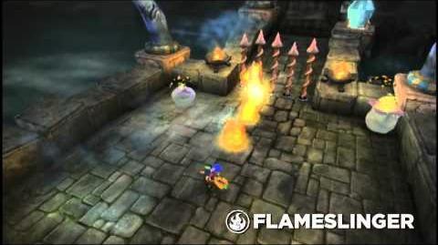 Skylanders Spyro's Adventure - Flameslinger Trailer