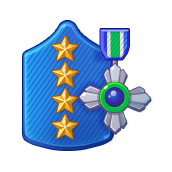 Badge Military Level 103