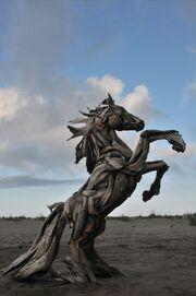 RealWorld Horse Art Installation