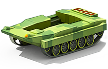 LP-53 Light Tank Construction