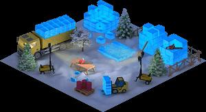 Ice Big Ben Construction