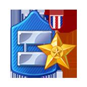 Badge Military Level 54