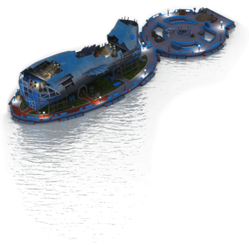 Golden Submarine Casino Construction